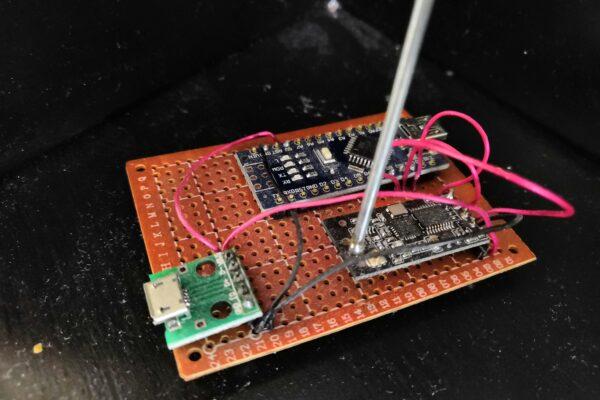 Partie 1: L'arduino maître, porte d'entrée des communications